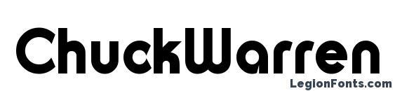 Шрифт ChuckWarren DesignSH