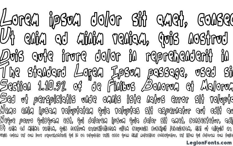 образцы шрифта Chunkmuffin Hollow, образец шрифта Chunkmuffin Hollow, пример написания шрифта Chunkmuffin Hollow, просмотр шрифта Chunkmuffin Hollow, предосмотр шрифта Chunkmuffin Hollow, шрифт Chunkmuffin Hollow