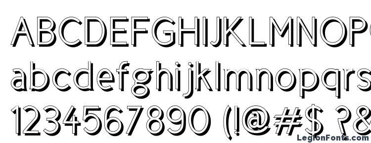 glyphs CicleShadow font, сharacters CicleShadow font, symbols CicleShadow font, character map CicleShadow font, preview CicleShadow font, abc CicleShadow font, CicleShadow font