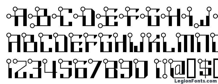 глифы шрифта Circuitborednf, символы шрифта Circuitborednf, символьная карта шрифта Circuitborednf, предварительный просмотр шрифта Circuitborednf, алфавит шрифта Circuitborednf, шрифт Circuitborednf