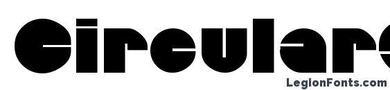 CircularSaw Font