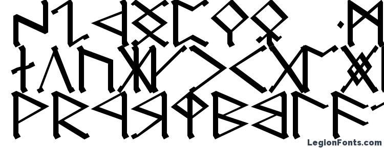 glyphs Cirth erebor caps font, сharacters Cirth erebor caps font, symbols Cirth erebor caps font, character map Cirth erebor caps font, preview Cirth erebor caps font, abc Cirth erebor caps font, Cirth erebor caps font