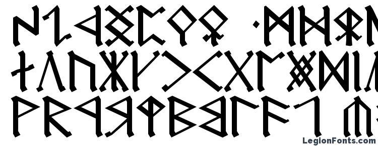 глифы шрифта Cirth erebor, символы шрифта Cirth erebor, символьная карта шрифта Cirth erebor, предварительный просмотр шрифта Cirth erebor, алфавит шрифта Cirth erebor, шрифт Cirth erebor