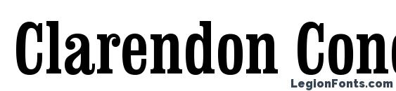 Clarendon Condensed BT Font