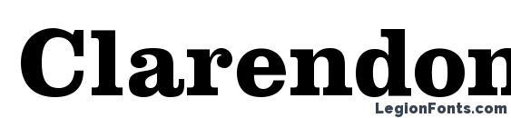 Clarendon LT Bold Font Download Free / LegionFonts