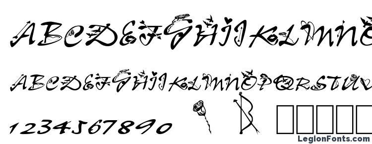 glyphs Clb.valentine font, сharacters Clb.valentine font, symbols Clb.valentine font, character map Clb.valentine font, preview Clb.valentine font, abc Clb.valentine font, Clb.valentine font