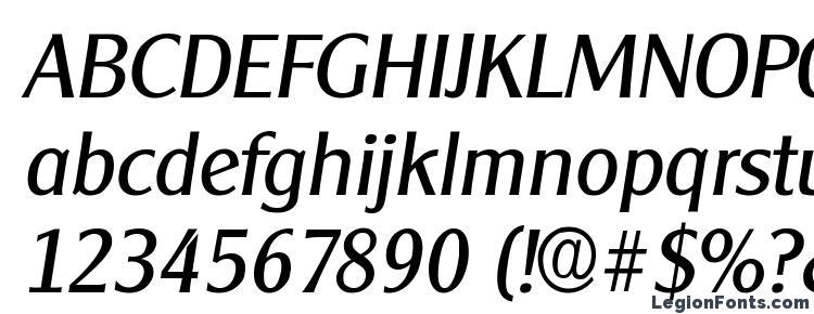 glyphs ClearfaceGothic Italic font, сharacters ClearfaceGothic Italic font, symbols ClearfaceGothic Italic font, character map ClearfaceGothic Italic font, preview ClearfaceGothic Italic font, abc ClearfaceGothic Italic font, ClearfaceGothic Italic font