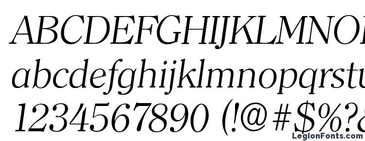glyphs ClearfaceSerial Light Italic font, сharacters ClearfaceSerial Light Italic font, symbols ClearfaceSerial Light Italic font, character map ClearfaceSerial Light Italic font, preview ClearfaceSerial Light Italic font, abc ClearfaceSerial Light Italic font, ClearfaceSerial Light Italic font