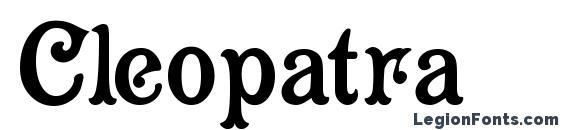 Шрифт Cleopatra