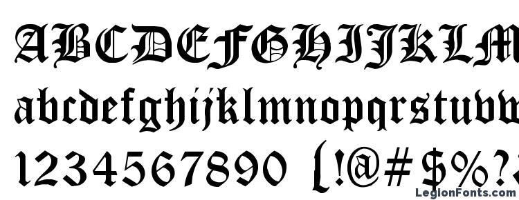 glyphs Cloister Black Light font, сharacters Cloister Black Light font, symbols Cloister Black Light font, character map Cloister Black Light font, preview Cloister Black Light font, abc Cloister Black Light font, Cloister Black Light font