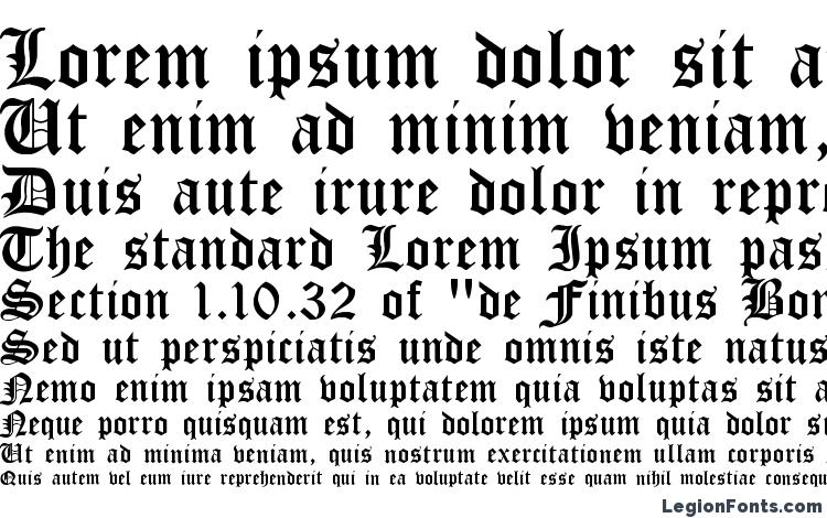 specimens Cloister Black Light font, sample Cloister Black Light font, an example of writing Cloister Black Light font, review Cloister Black Light font, preview Cloister Black Light font, Cloister Black Light font