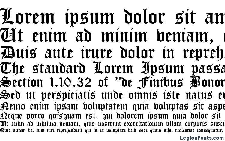 образцы шрифта Cloister Black, образец шрифта Cloister Black, пример написания шрифта Cloister Black, просмотр шрифта Cloister Black, предосмотр шрифта Cloister Black, шрифт Cloister Black