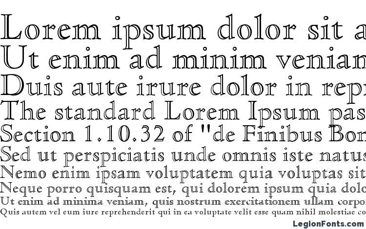 specimens CloisterStd OpenFace font, sample CloisterStd OpenFace font, an example of writing CloisterStd OpenFace font, review CloisterStd OpenFace font, preview CloisterStd OpenFace font, CloisterStd OpenFace font