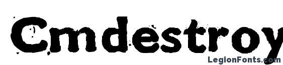 Cmdestroy Font