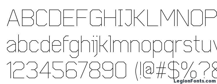 glyphs Cobol Light font, сharacters Cobol Light font, symbols Cobol Light font, character map Cobol Light font, preview Cobol Light font, abc Cobol Light font, Cobol Light font