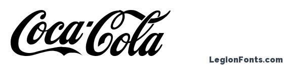 CocaCola font, free CocaCola font, preview CocaCola font
