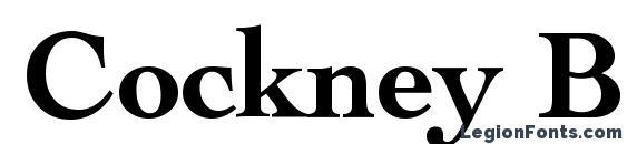 Cockney Bold font, free Cockney Bold font, preview Cockney Bold font