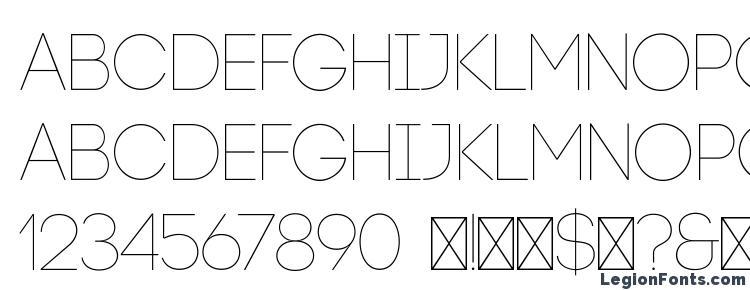 глифы шрифта Code Light, символы шрифта Code Light, символьная карта шрифта Code Light, предварительный просмотр шрифта Code Light, алфавит шрифта Code Light, шрифт Code Light
