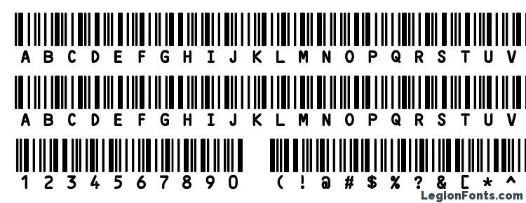 glyphs CODE3X font, сharacters CODE3X font, symbols CODE3X font, character map CODE3X font, preview CODE3X font, abc CODE3X font, CODE3X font