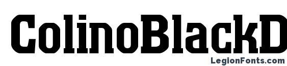 ColinoBlackDB Normal Font