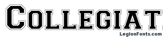 Collegiate Norm Font