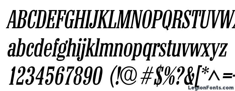 глифы шрифта Colonel Italic, символы шрифта Colonel Italic, символьная карта шрифта Colonel Italic, предварительный просмотр шрифта Colonel Italic, алфавит шрифта Colonel Italic, шрифт Colonel Italic