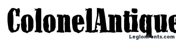 ColonelAntique Heavy Regular Font