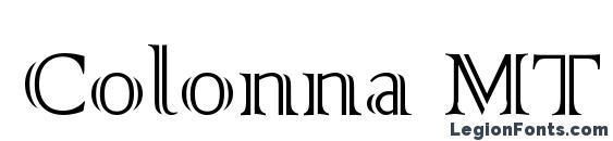 Colonna MT Font