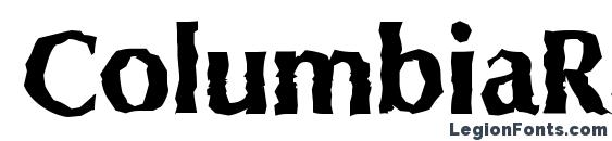 ColumbiaRandom Xbold Regular Font