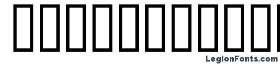 CombiNumerals Solid Font