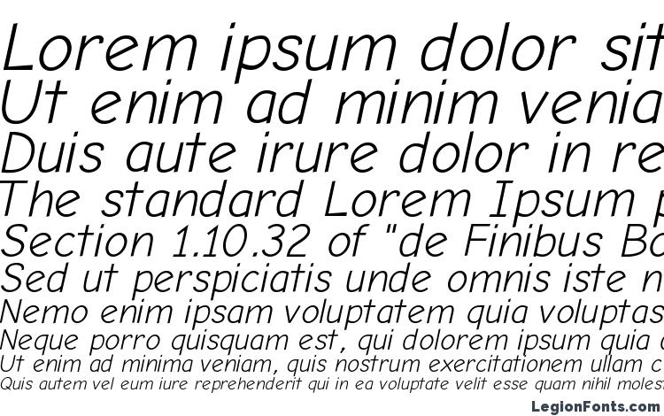 specimens Comic Neue Angular Oblique font, sample Comic Neue Angular Oblique font, an example of writing Comic Neue Angular Oblique font, review Comic Neue Angular Oblique font, preview Comic Neue Angular Oblique font, Comic Neue Angular Oblique font