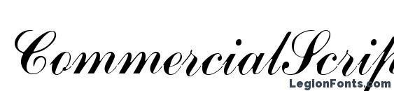 CommercialScript3 Font, Cursive Fonts