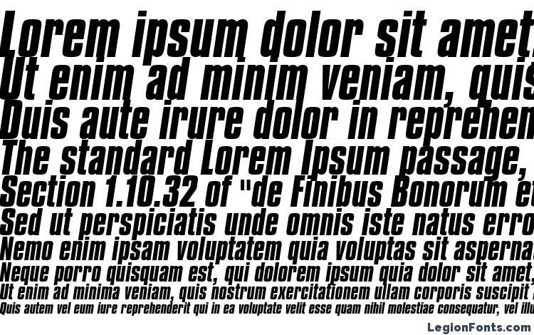specimens Compacta Bold Italic BT font, sample Compacta Bold Italic BT font, an example of writing Compacta Bold Italic BT font, review Compacta Bold Italic BT font, preview Compacta Bold Italic BT font, Compacta Bold Italic BT font