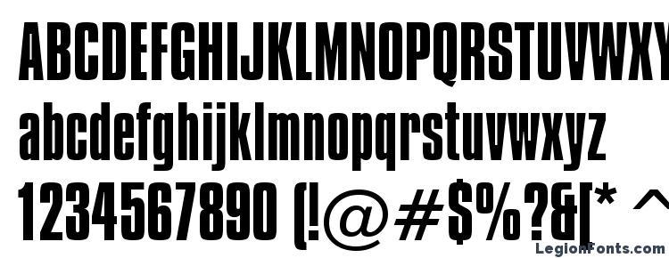 glyphs Compacta BT font, сharacters Compacta BT font, symbols Compacta BT font, character map Compacta BT font, preview Compacta BT font, abc Compacta BT font, Compacta BT font