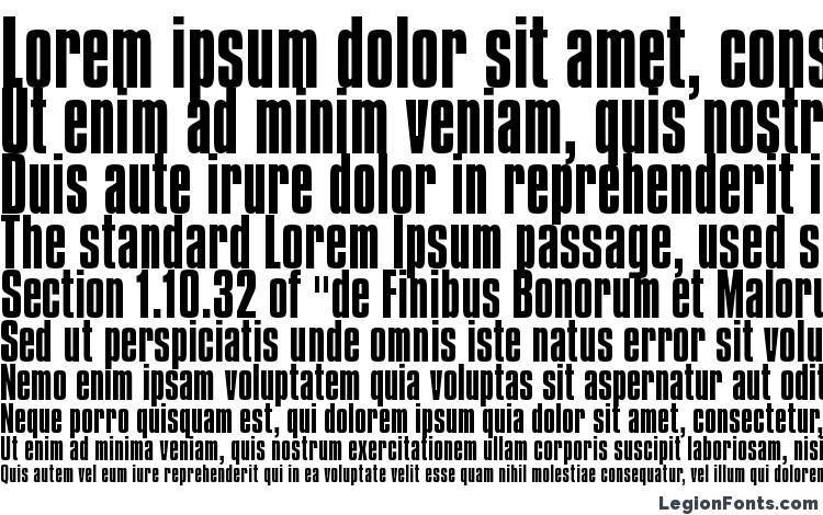specimens Compacta BT font, sample Compacta BT font, an example of writing Compacta BT font, review Compacta BT font, preview Compacta BT font, Compacta BT font