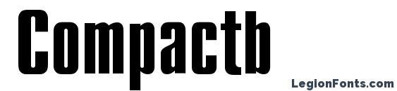 Compactb Font, Russian Fonts