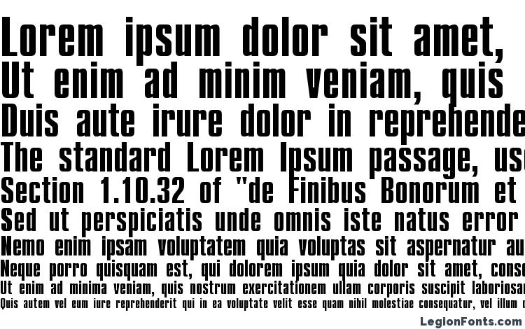 specimens CompactCTT Bold font, sample CompactCTT Bold font, an example of writing CompactCTT Bold font, review CompactCTT Bold font, preview CompactCTT Bold font, CompactCTT Bold font