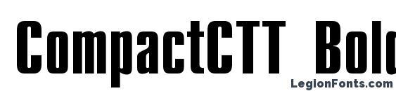 Шрифт CompactCTT Bold