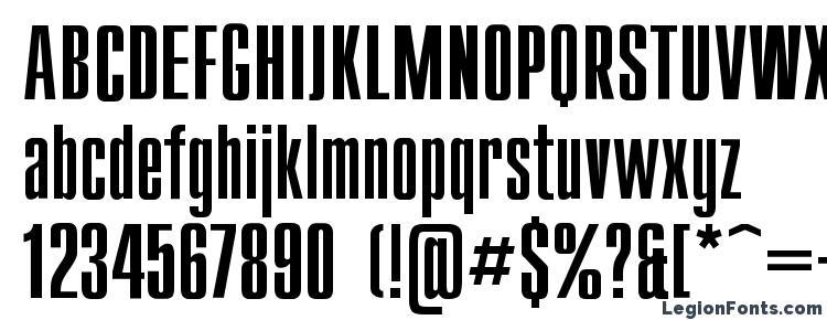 глифы шрифта Compactl, символы шрифта Compactl, символьная карта шрифта Compactl, предварительный просмотр шрифта Compactl, алфавит шрифта Compactl, шрифт Compactl