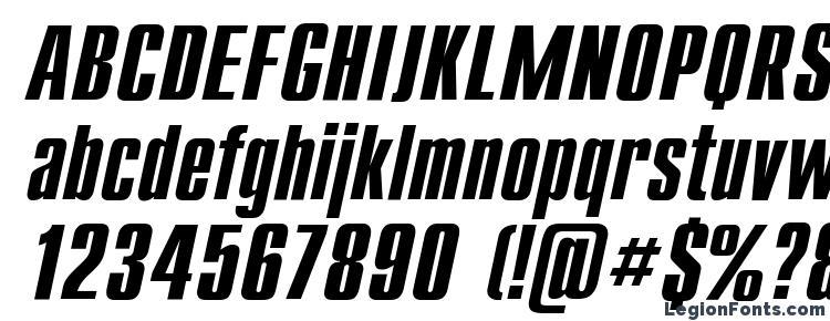 глифы шрифта Compactt, символы шрифта Compactt, символьная карта шрифта Compactt, предварительный просмотр шрифта Compactt, алфавит шрифта Compactt, шрифт Compactt