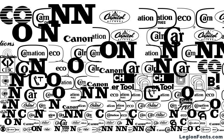 specimens Companylogos font, sample Companylogos font, an example of writing Companylogos font, review Companylogos font, preview Companylogos font, Companylogos font
