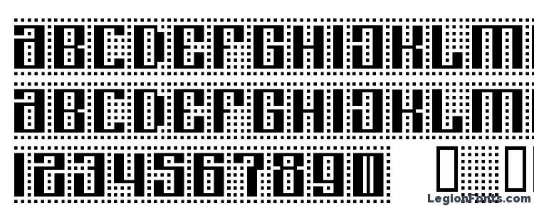глифы шрифта ComputerAmok, символы шрифта ComputerAmok, символьная карта шрифта ComputerAmok, предварительный просмотр шрифта ComputerAmok, алфавит шрифта ComputerAmok, шрифт ComputerAmok
