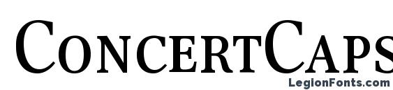 ConcertCapsDB Normal Font