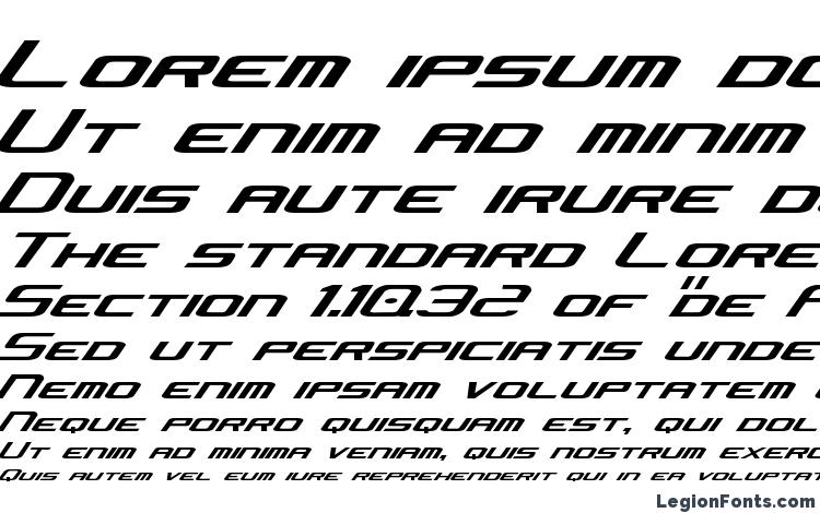 specimens Concielian Jet font, sample Concielian Jet font, an example of writing Concielian Jet font, review Concielian Jet font, preview Concielian Jet font, Concielian Jet font