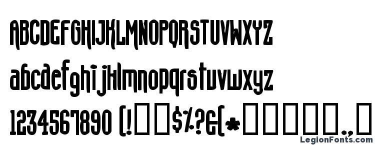 глифы шрифта Concshoe, символы шрифта Concshoe, символьная карта шрифта Concshoe, предварительный просмотр шрифта Concshoe, алфавит шрифта Concshoe, шрифт Concshoe