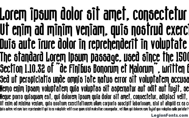 specimens Concshoe font, sample Concshoe font, an example of writing Concshoe font, review Concshoe font, preview Concshoe font, Concshoe font
