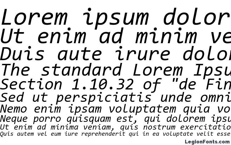 Consolas Italic Font Download Free / LegionFonts
