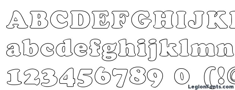 glyphs CookieHollow Regular font, сharacters CookieHollow Regular font, symbols CookieHollow Regular font, character map CookieHollow Regular font, preview CookieHollow Regular font, abc CookieHollow Regular font, CookieHollow Regular font