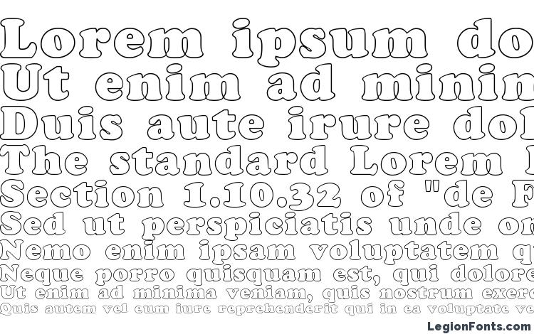 specimens CookieHollow Regular font, sample CookieHollow Regular font, an example of writing CookieHollow Regular font, review CookieHollow Regular font, preview CookieHollow Regular font, CookieHollow Regular font