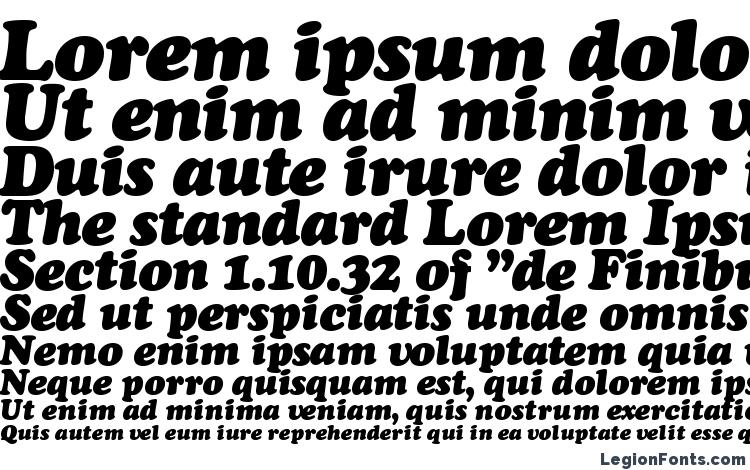 specimens Cooper Black Italic font, sample Cooper Black Italic font, an example of writing Cooper Black Italic font, review Cooper Black Italic font, preview Cooper Black Italic font, Cooper Black Italic font